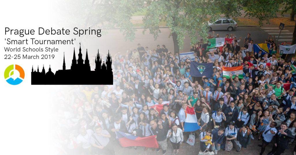 Vizualizace pozvánky na Prague Debate Spring 2019