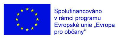 """Spolufinancováno v rámci programu Evropské unie """"Evropa pro občany"""""""